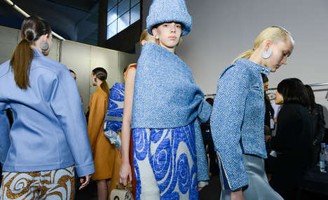 Beachy Winter Getups - The Acne Studios Fall 2014 Collection is Bright and Beachy