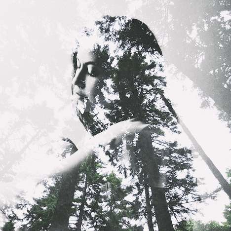 Pensive Double-Exposed Photography - Photographer Taylor Allen Captures Mesmerizing Photographs
