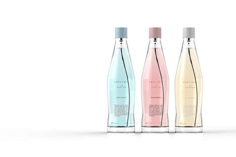 Pop Bottle Perfume Packaging - Coca Cola Le Parfum Bottles are Inspired by the Brand