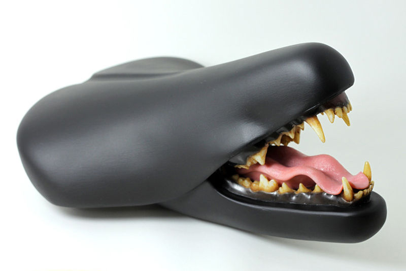 Customized Creature Bike Seats