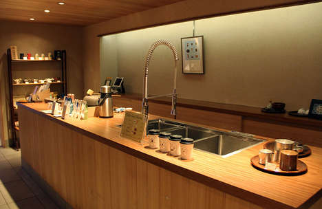 Premium Green Tea Shops - Ippodo is Three Centuries Old Tea Store Now Open in NYC