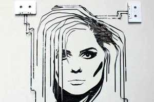 A Celebrity Portrait Crafted From Cassettes is a Fine Skill