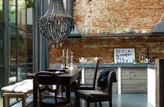 Baroque Kitchen Designs - This Modern Kitchen Design is Both Masculine and Delicate