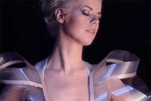 The Intimacy 2.0 Dress Becomes Transparent When the Mood Stricks