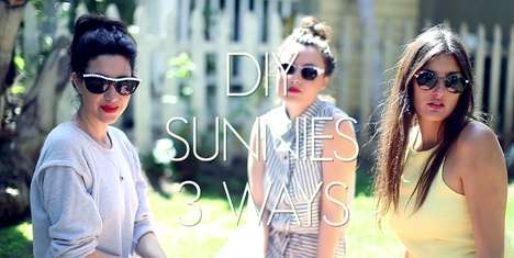 diy summer sunglasses