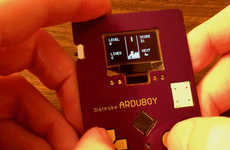 Video Game Business Cards - This Business Card Acts as a Mobile Video Game
