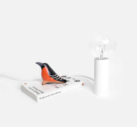 Seriously Simple Lamps - The New Lights by Andrew Neyer Adhere to Modern Minimalism