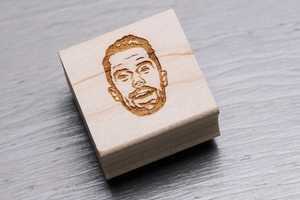 These Stamp Yo Face Creations Afford an Expressive Stationery Sign-Off