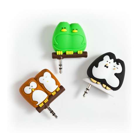 Bird Buddy Earphone Splitters - These Avian Splitter Headphone Jack Designs Make Sharing Music Easy