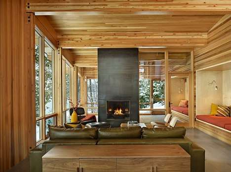 Sophisticated Rustic Residences - The North Lake Wenatchee House by DeForest Architects Has a Secret