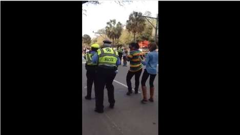 Hilarious Poplocking Police Videos - This Police Officer Breaks It Down for Mardi Gras 2014