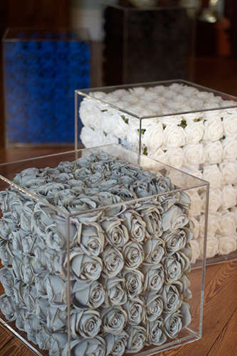 Rose Receptacle Presentations - A Glass Box Art Installation is the Perfect Welcome For Spring