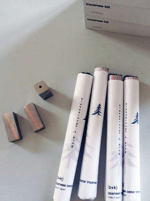 Perpendicular Incense Kits - These Incense Sticks Bring a Touch of Class and Style to Meditation
