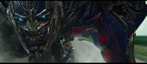 Extinct Robotic Transformer Films - The Transformers 4 Trailer is Suspenseful and Refreshing