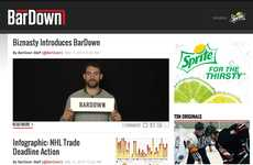 Pop Culture Sports Websites - Sports Meets Pop Culture with TSN's BarDown.com