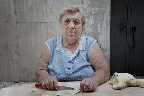 Candid Pasta-Maker Photography - This Portrait Series Documents the Italian Women Behind Pasta