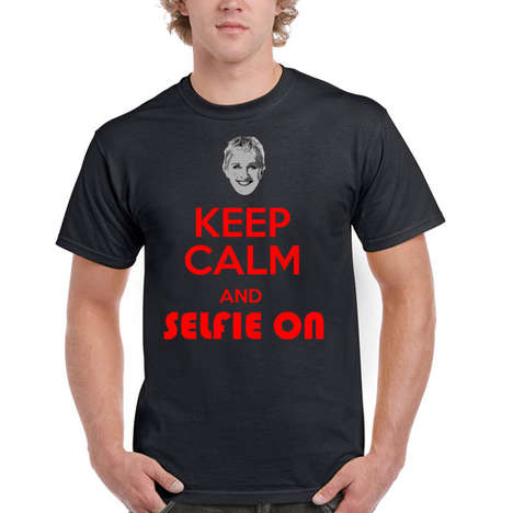 Oscars-Inspired Apparel - The Ellen Selfie Shirt Reminisces on the 86th Academy Awards