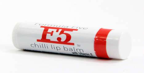 Chili Lip Balms - Formula Five Creates a Moisturizing Product with an Added Bit of Heat