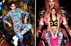 Psychedelic Street Fashion Lookbooks
