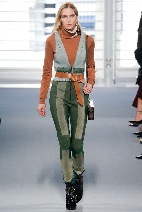 Luxe Alpine Apparel - This Nicolas Ghesquiere Collection for Louis Vuitton Boasts Cozy Couture