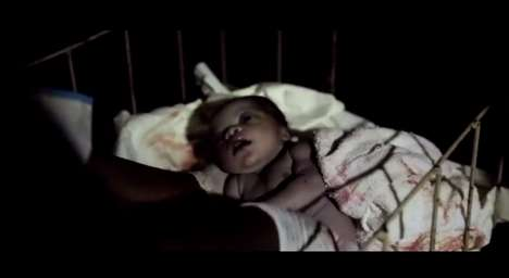 Shocking Live Birth Adverts - Save The Children