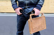 Dapper Tech Accessories - These Leather Laptop Bags From Germanmade Mix Style with Function