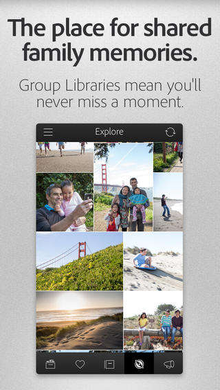 Minimalist Interface Photo Apps - Adobe Introduces the Revel App Acting as an All-in-One Photo App