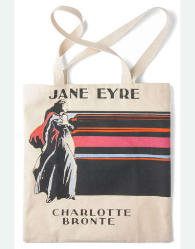 Classic Literary Beach Bags - Imagine Your Life in the 1880s When You Carry the Jane Eyre Tote Bag
