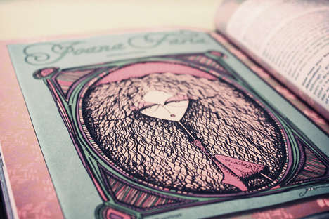 Whimsical Corpse Illustrations - The Joana Faria Children