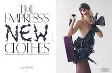 Garbage Bag Editorials - The Photoshoot Starring Ashleigh Good for CR Fashion Book is Trashy