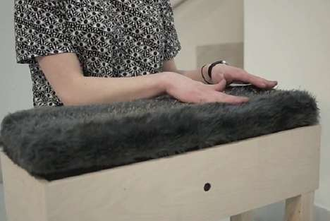 Furry Purring Sculptures - The SoundObject Mew Project Encourages Loving Interactivity