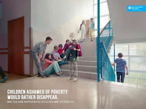 Invisible Kid Ads - The SOS Children