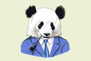 The Animal Rap Portraits by Berkley Illustrations are Cleverly Cute