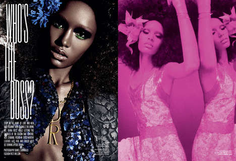 Revamped Disco Editorials - The V Magazine