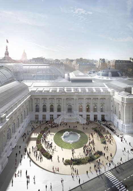 Refreshed Historical Designs - Expansion of Paris' Grand Palais Will Revive the Classic Buildi