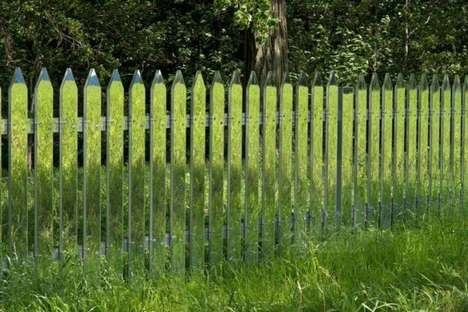 Camouflaged Fencing - These Camouflaged Fences Give an Excellent Alternative