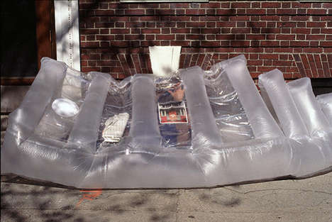Inflatable Heat-Sharing Shelters - The paraSITE Shelter Turns Excess Heat into Comfortable Living