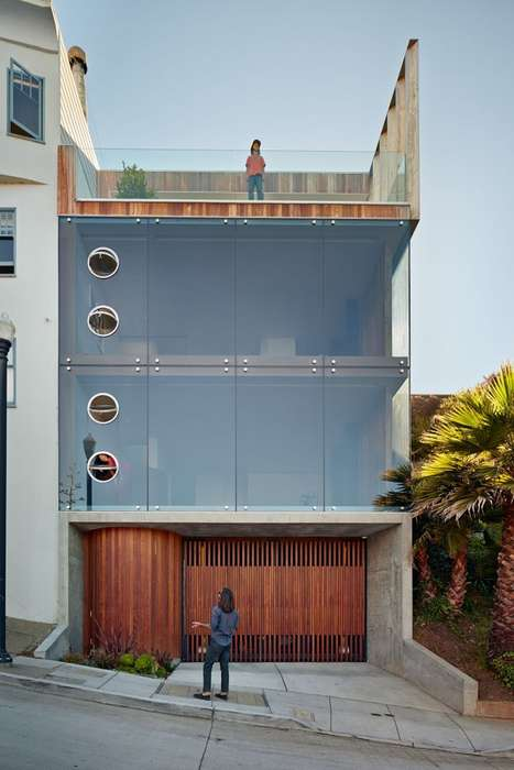 Distinct Glass-Encased Residences - Peter's House by Craig Steely Architecture Boasts Quite th