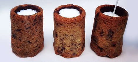 Edible Cookie Shot Glasses - Dominique Ansel Has Created Yet Another Mouthwatering Combination