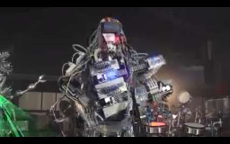 Dynamic Robotic Symphonies - Z-machine Band is Comprised of Three Robots That Put on Quite a Show