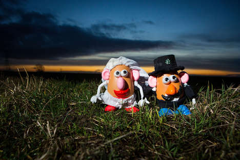 Potato Toy Nuptials - Wedding Photos Branch Into New Realms of Nuptial Subjects
