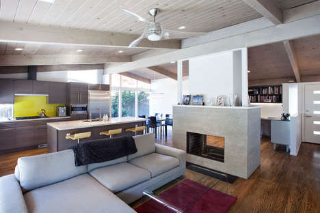 Vibrant Home Renovations - This House Renovation Breathes New Life into a Tired 1960s Home