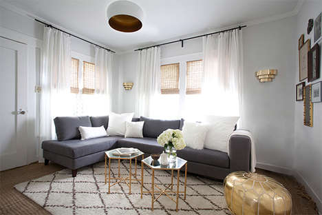 Moroccan Pouf Apartments - A Homepolish Apartment Will Give You Some Spring Decor Inspiration