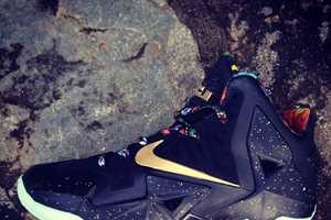 The Infamous Nike Lebron 11 'Watch The Throne' Shoe is Bold