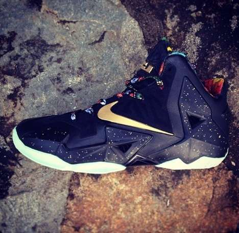 Regal Hip Hop-Inspired Footwear - The Infamous Nike Lebron 11