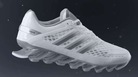 Blade-Infused Runners - Adidas Takes Running to the Next Level with the New Springblade (SPONSORED)