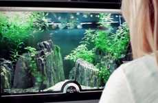 Users from Around the World Can Feed Fish Through This Virtual Aquarium