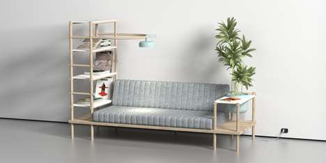 Serene Multifunctional Sofas - Herb by Burak Kocak Creates a Comfortable Sanctuary in the Home