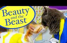 The Pet Collective Beauty and the Beast Remake is Feline Funny