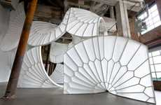 Artistically Winged Installations